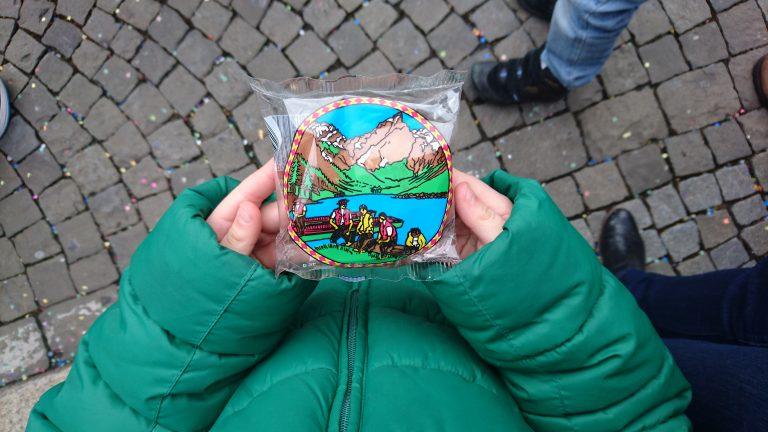 Karnawał w Szwajcarii. Eis-zwei-Geissebei.